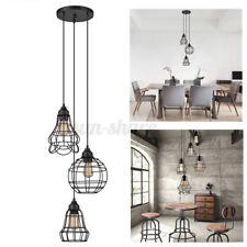 3-Lights Metal Pendant Light Hanging Ceiling Lighting Fixture Chandelier Lamp U