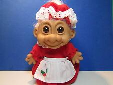 "MRS CLAUS / CHRISTMAS GRANDMA  - 8"" Russ Troll Doll - NEW STORE STOCK -LAST ONES"
