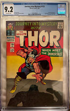 Journey into Mystery #125 CGC 9.2 OW - Last Issue of the Series