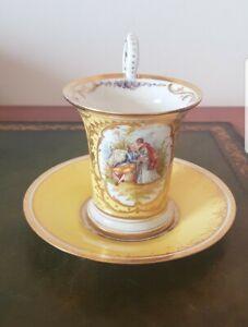 DONATH & CO Dresden Porzellan Tasse Sammeltasse
