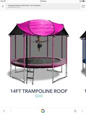 14 Foot Trampoline Tent / Roof / Cover