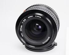 Minolta MD 35mm f3.5 in fine condition