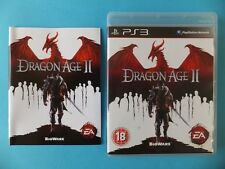 DRAGON AGE II (2) BOXED COMPLETE VGC Sony PlayStation 3 PS3 PAL Video Game
