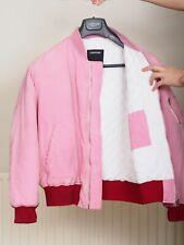 $2,700 Raf Simons x  Calvin Klein 205w39nyc mens pink bomber jacket coat