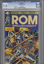 Rom: The Space Knight #2  CGC 9.8 Marvel 1980 Before Transformers: Price Drop!