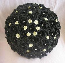 Black Wedding Bouquet