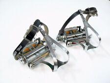 LYOTARD BTE S.G.D.G 136R BICYCLE CHROME RAT TRAP 9/16 X 20 TPI PEDALS VGC
