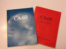 (2) Communication Arts Magazine 1969 Vol II, No 5 & 6 Awards Of Merit