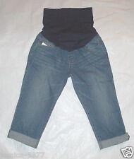 Liz Lange for Target Womens Maternity Jeans Capri Size 4 NWT