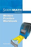 Saxon Math Intermediate 5 Written Practice Student Workbook 5th Grade