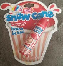 Snow Cone Cherry flavored Lip balm~Rare Vintage Collectible