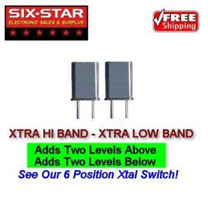 CB Radio Crystals PLL XTRA HI & LO Fits Cobra 2000, 148GTL, Uniden & Pres Grant