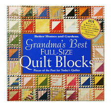 Grandma's Best Full Size Quilt Blocks : Pieces of the Past for Today's...