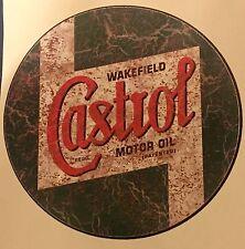 CASTROL RETRO RUSTY DISTRESSED  VINYL STICKER DECAL CAR WALL ART Rat