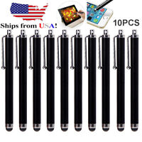 10x Universal Touch Screen Pen Metal Stylus For iPhone 5 6S 7 iPad Samsung Phone