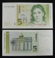 Germany Banknote 5 Mark 1991 UNC