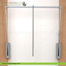 Servetto 3000 grigio alluminio per armadio