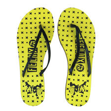 Felix the Cat Unisex Flip Flops; Yellow, Size: 6.5