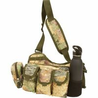 UTILITY DAY PACK SLING BAG Tree Camo Shoulder Multiple Pockets Military Bug Out