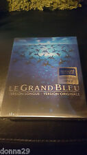 LE GRAND BLEU : The Big KIMCHIDVD EXCLUSIVE BLU-RAY LENTICULAIRE STEELBOOK NEUF
