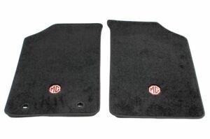 Original MGF MG F MG TF Velours Fussmatten Fußmatten schwarz