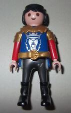 504470 Caballero simple orden león azul y rojo playmobil,knight,ritter