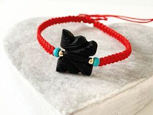Azabache bracelet azabache charm protection bracelet evil eye bracelet jet stone