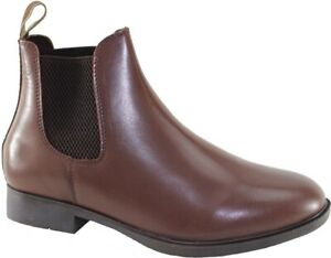 CABOTSWOOD Mens STAFFORD Polished Leather JODHPUR BOOTS Brown DEALER BOOT