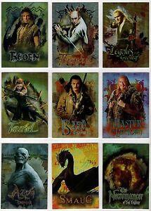 2015 Cryptozoic Hobbit the Desolation of Smaug Character Biographies You Pick
