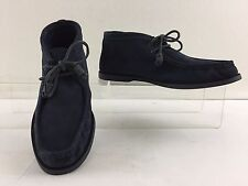 """SPERRY """"JEFFREY"""" TOP-SIDER MENS NAVY BLUE SUEDE CHUKKA BOOT SIZE 12 M"""