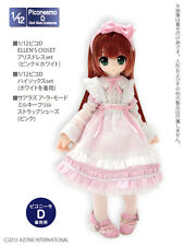 Azone Picconeemo Picco D Ellen Closet Alice Dress Set Pink x White 1/12 Doll