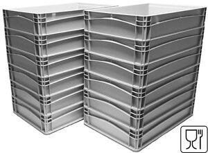 "12x Pizzateigbehälter Teigbehälter Pizzaballenbox  600x400x70mm,  ""NEU"""