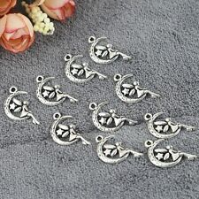 Pretty Women Fairy Moon Star Pendants DIY Charms Accessories for Jewelry Making
