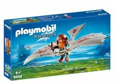 Playmobil 9342 Knights Dwarf Flyer Toy Playset, Dungeon, Castle, Dragons