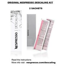 Original Nespresso Set Cleaning and Descaling Kit for Capsules Coffee Machines