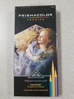 Prismacolor Premier Verithin Artist Quality Hard Thin Colored Pencils 12 Colors