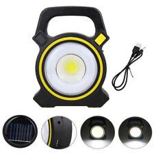 COB LED 10W Energía solar Rechargeable Portátil Working Linterna Warning lámpara