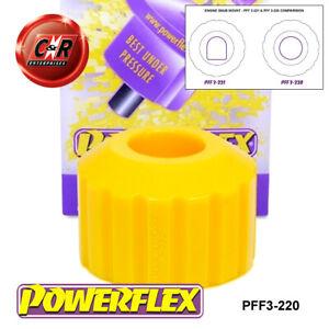 PFF3-220 Powerflex For Audi 100 4WD + Avant 44 C3 10/84-11/90 Eng Snub Nose Mnt