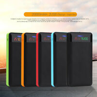2.1A Dual USB Power Bank Case 6x18650 Battery Charger Box Case Kit