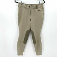 Noble Outfitters Women's Signature Equestrian Tan 28R Horse Show Breeches Pants