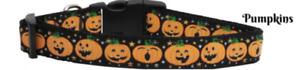 Pumpkins Halloween Cat Collar