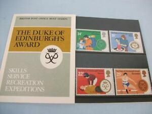 GB Royal Mail Stamp Commemorative 'The D of E Award' Presentation Pack Nos 128