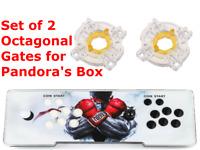 2 Octagonal Gates Pandora Box Arcade 4s, 5s, 6s, 7s, 8s, 9s,11s, 12s, + 9D