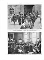 WWI Signature Château de Saint-Germain-en-Laye Chancelier Renner ILLUSTRATION