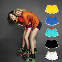 Fashion Hot Girl Women Candy Color Sexy Cotton Sports Shorts Casual Mini Pants