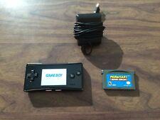 Nintendo Game Boy micro System + Mario Kart + Charger -- GameBoy Micro --