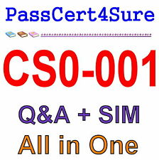 CompTIA Cybersecurity Analyst CSA+ CS0-001 Exam Q&A+SIM