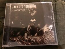 DARK TRANQUILLITY projector live CD RARE OUT OF PRINT