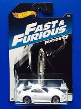 2017 Hot Wheels FAST & FURIOUS JDM WHITE 1994 TOYOTA SUPRA - Mint on long card