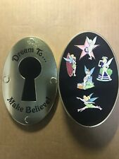 Disney TINKERBELL 5 Pin SET LE 300 Dream To Make Believe Where Dreams Hap-pin